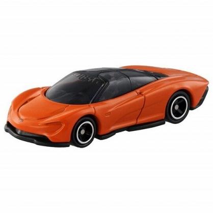 小禮堂 TOMICA多美小汽車 麥拉倫Speedtail 3人座跑車 玩具車 模型車 (93 橘)