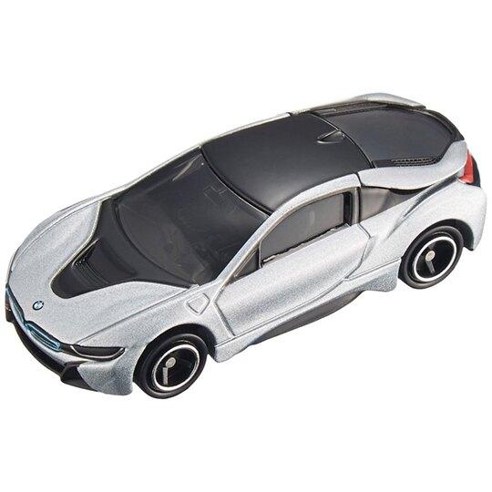 小禮堂 TOMICA多美小汽車 BMWi8 雙門跑車 玩具車 模型車 (17 銀)