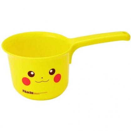 小禮堂 神奇寶貝 皮卡丘 塑膠水瓢 小水瓢 水勺 可掛式 (黃 大臉)