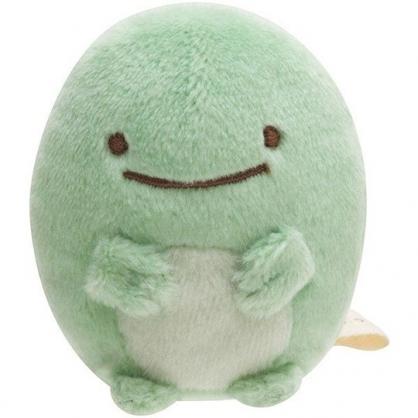 小禮堂 角落生物 企鵝 迷你沙包玩偶 絨毛玩偶 沙包娃娃 (綠 坐姿)