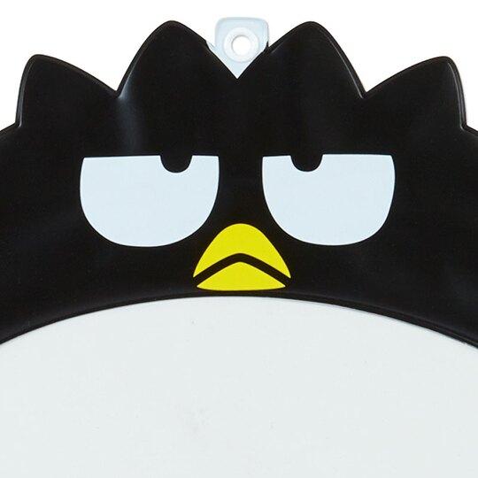 小禮堂 酷企鵝 塑膠大圓扇保護套 透明扇套 圓相框 扇套 (黑 演唱會粉絲收納)