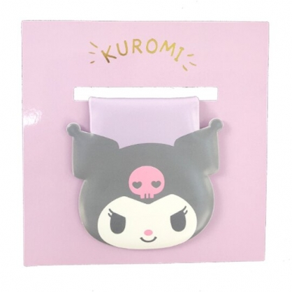 小禮堂 酷洛米 造型磁鐵夾 吸鐵夾 事務夾 造型夾 (紫 大臉文具)