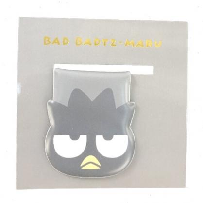 小禮堂 酷企鵝 造型磁鐵夾 吸鐵夾 事務夾 造型夾 (灰 大臉文具)
