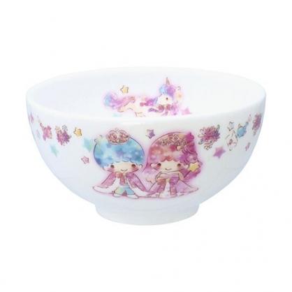 小禮堂 雙子星 日製 陶瓷碗 湯碗 飯碗 金正陶器 (粉白 45週年)
