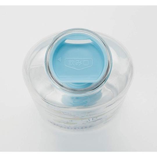 小禮堂 史努比 透明隨身冷水瓶 運動水壺 塑膠水瓶 兒童水壺 580ml (粉蓋 衝浪)