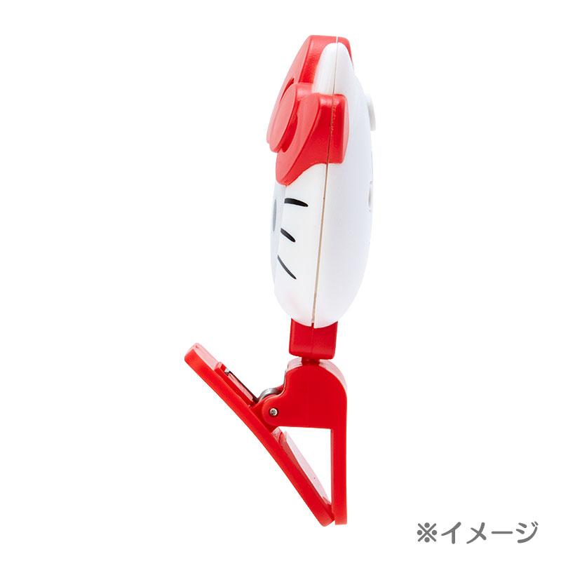小禮堂 大耳狗 造型自拍補光燈夾 自拍燈 自拍神器 360度旋轉 (藍白 大臉)