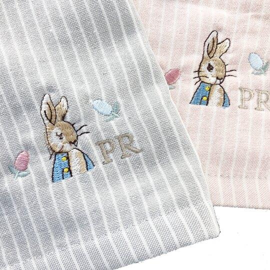 小禮堂 彼得兔 精繡純棉兒童毛巾 長毛巾 童巾 34x76cm (M 2款隨機)
