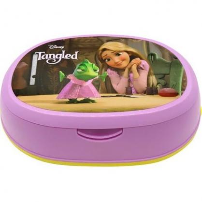 小禮堂 迪士尼 長髮公主 橢圓形濕紙巾盒 抽取式紙巾盒 面紙盒 口罩盒 (紫 朋友)
