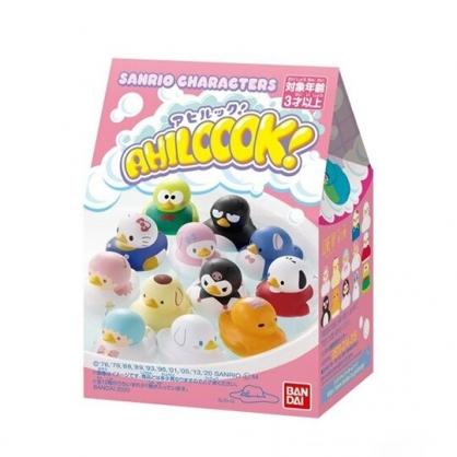 小禮堂 Sanrio大集合 洗澡小鴨玩具 沐浴鴨 洗澡玩具 (12款隨機 粉盒裝)