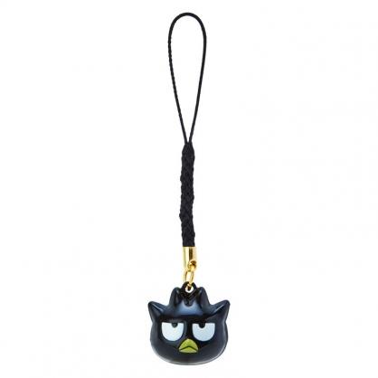 小禮堂 酷企鵝 造型鈴鐺吊飾 鈴鐺鑰匙圈 金屬吊飾 (黑白 大臉)