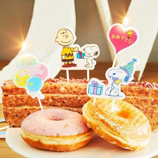 小禮堂 史努比 造型生日蛋糕蠟燭 慶生蠟燭 派對蠟燭 (2入 粉綠 抱抱)