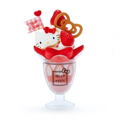 小禮堂 Hello Kitty 食物造型磁鐵 塑膠磁鐵 冰箱磁鐵 吸鐵 (紅 超市文具)