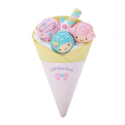 小禮堂 雙子星 食物造型磁鐵 塑膠磁鐵 冰箱磁鐵 吸鐵 (粉米 超市文具)