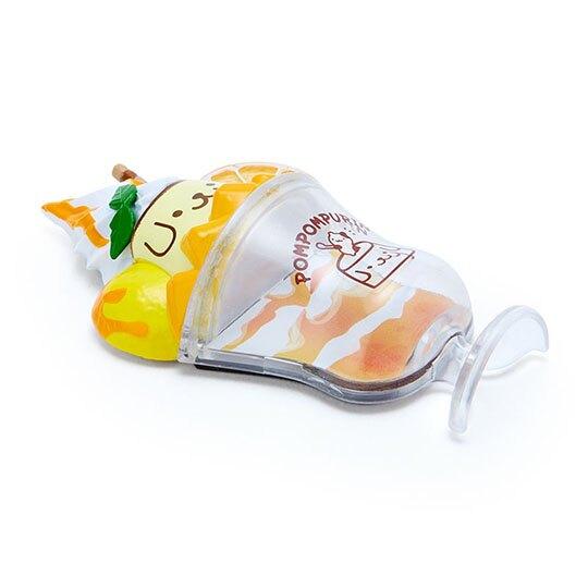 小禮堂 布丁狗 食物造型磁鐵 塑膠磁鐵 冰箱磁鐵 吸鐵 (黃橘 超市文具)