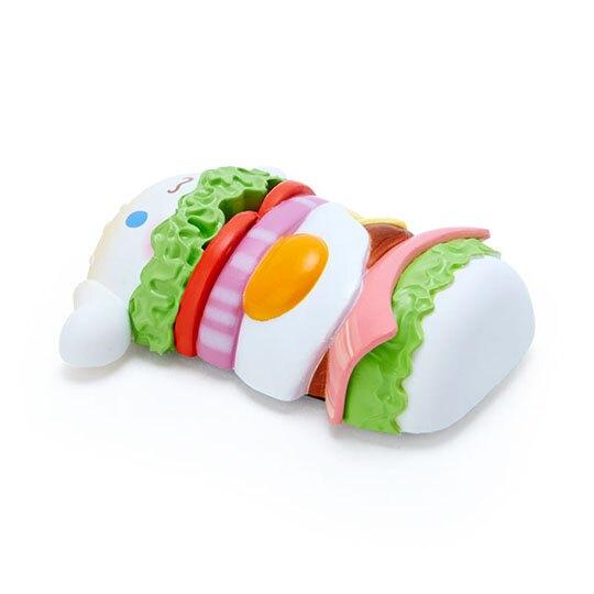 小禮堂 大耳狗 食物造型磁鐵 塑膠磁鐵 冰箱磁鐵 吸鐵 (白綠 超市文具)