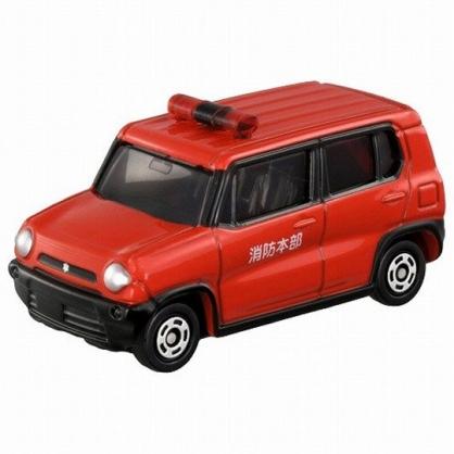 小禮堂 TOMICA多美小汽車 Suzuki 消防車 玩具車 模型車 (106 紅)