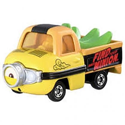 小禮堂 TOMICA多美小汽車 小小兵Stuart 香蕉貨車 玩具車 模型車 (綠黃)