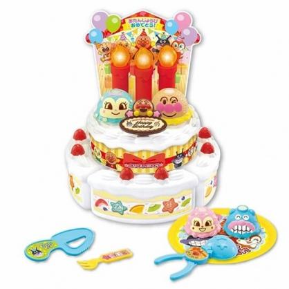 小禮堂 麵包超人 蛋糕切切樂 切蛋糕玩具 聲光玩具 扮家家酒 (紅白雙層)
