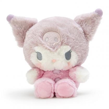小禮堂 酷洛米 沙包玩偶 絨毛玩偶 沙包娃娃 布偶 (S 紫粉 寶寶)