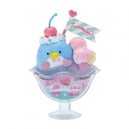 小禮堂 山姆企鵝 食物造型磁鐵 塑膠磁鐵 冰箱磁鐵 吸鐵 (藍粉 超市文具)