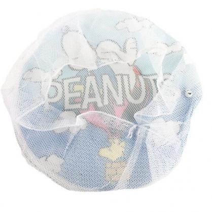 小禮堂 史努比 風扇防護網 風扇保護套 風扇網套 防塵套 直徑40cm (藍 熱氣球)