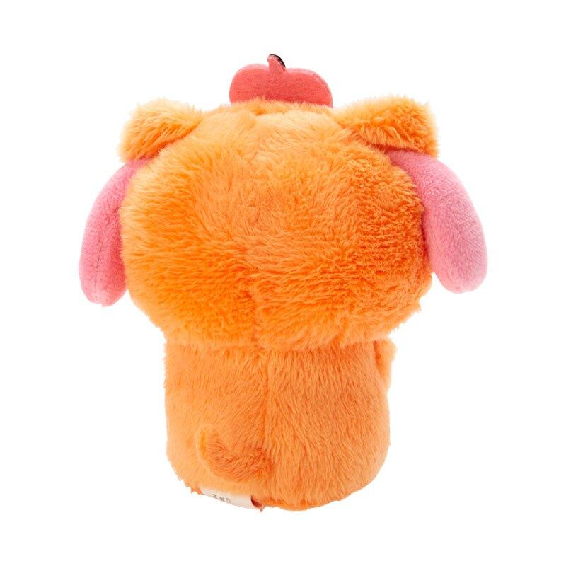 小禮堂 美樂蒂 迷你沙包玩偶 絨毛玩偶 沙包娃娃 (橘粉 2020萬聖節)