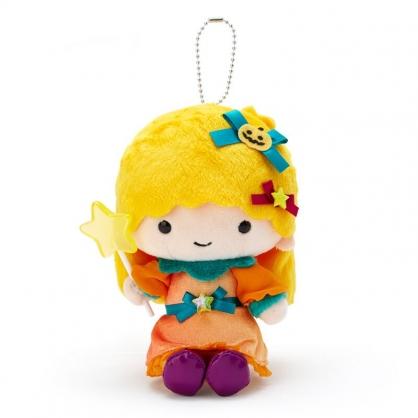 小禮堂 雙子星LALA 絨毛吊飾 玩偶吊飾 玩偶鑰匙圈 (黃橘 2020萬聖節)