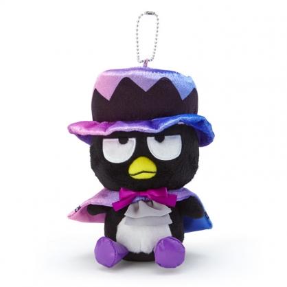 小禮堂 酷企鵝 絨毛吊飾 玩偶吊飾 玩偶鑰匙圈 (黑紫 2020萬聖節)