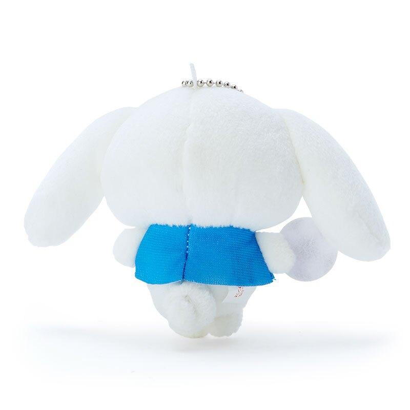 小禮堂 大耳狗 絨毛吊飾 玩偶吊飾 玩偶鑰匙圈 (藍白 應援啦啦隊)