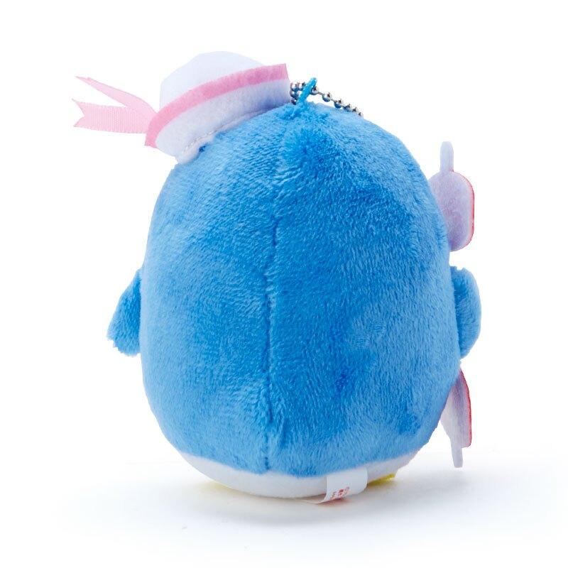 小禮堂 山姆企鵝 絨毛吊飾 玩偶吊飾 玩偶鑰匙圈 (藍紫 應援啦啦隊)