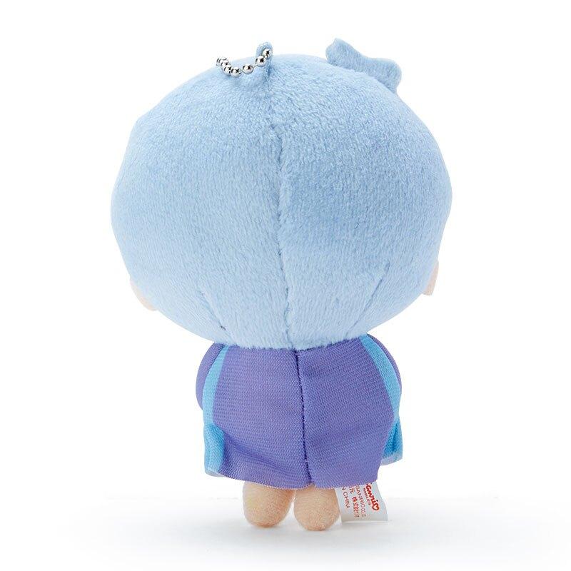 小禮堂 雙子星KIKI 絨毛吊飾 玩偶吊飾 玩偶鑰匙圈 (藍紫 應援啦啦隊)