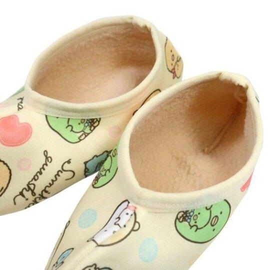 小禮堂 角落生物 成人室內保暖襪 短襪 室內襪 室內鞋 腳長20-22cm (黃 玩偶)