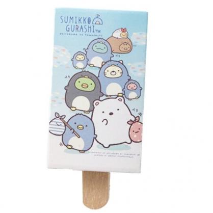 小禮堂 角落生物 冰棒造型橡皮擦 擦布 (藍 變裝)