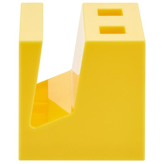 小禮堂 迪士尼 小熊維尼 方形塑膠鍋蓋架 餐具架 筷架 瀝水架 廚房收納架 (黃 抱抱)