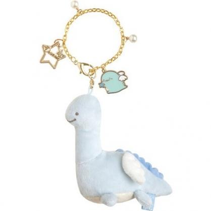 小禮堂 角落生物 恐龍 絨毛吊飾 玩偶吊飾 玩偶鑰匙圈 (藍 翅膀)