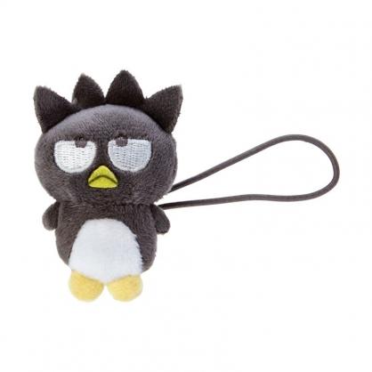 小禮堂 酷企鵝 造型絨毛彈力髮圈 玩偶髮束 絨毛髮圈 (黑白 全身)