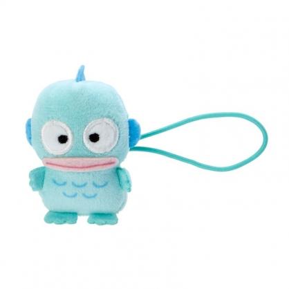 小禮堂 海怪 造型絨毛彈力髮圈 玩偶髮束 絨毛髮圈 (藍 全身)