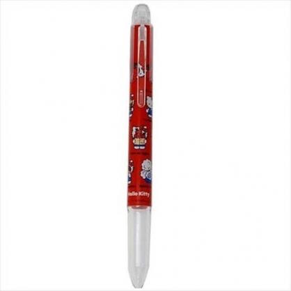 小禮堂 Hello Kitty 日製 三色筆筆桿 替換筆桿 多色筆桿 0.3mm 0.5mm HI-TEC (紅 草莓)