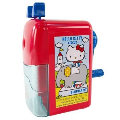 小禮堂 Hello Kiity 削鉛筆機 削鉛筆器 筆削 (紅藍 汽球)