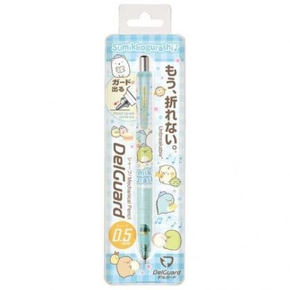 小禮堂 角落生物 日製 自動鉛筆 自動筆 0.5mm DelGuard (藍 樂隊)
