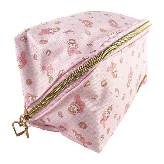 小禮堂 美樂蒂 方形尼龍化妝包 尼龍收納包 盥洗包 小物包 (粉 女僕)
