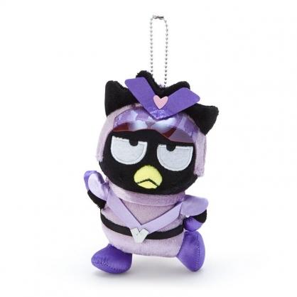 小禮堂 酷企鵝 絨毛吊飾 玩偶吊飾 玩偶鑰匙圈 (紫 英雄戰隊)
