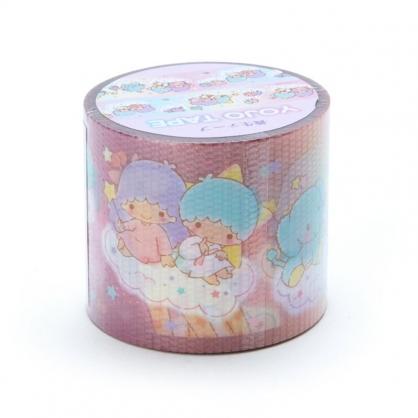 小禮堂 雙子星 日製 寬版透明膠帶 防水膠帶 包裝膠帶 寬膠帶 4cmx4m (粉 長頸鹿)