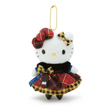 小禮堂 Mimmy 絨毛吊飾 玩偶吊飾 玩偶鑰匙圈 包包吊飾 (黃黑 雙胞胎生日慶)