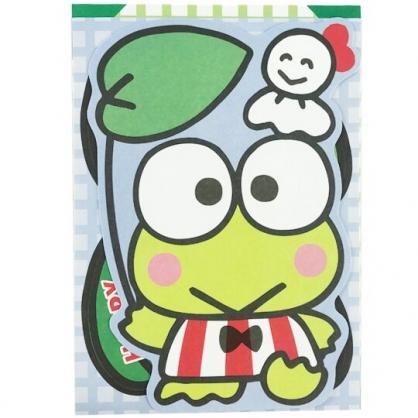 小禮堂 大眼蛙 造型直式萬用卡片 祝賀卡 送禮卡 節慶卡 (綠 荷葉)