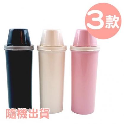 小禮堂 山田化學 隨身冷水瓶 塑膠水瓶 兒童水壺 隨身瓶 420ml (3款隨機)