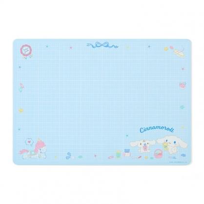 小禮堂 大耳狗 方形橡膠切割桌墊 防割桌墊 止滑桌墊 切割墊 軟墊 (藍 手工藝)