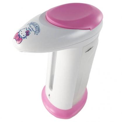 小禮堂 Hello Kitty 感應式洗手乳機 自動給皂機 洗手乳機 皂液機 (桃白 蝴蝶結)