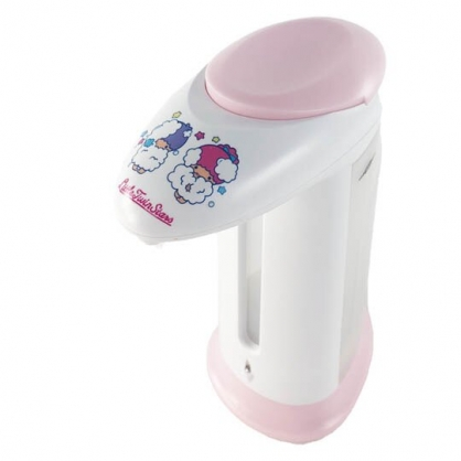 小禮堂 雙子星 感應式洗手乳機 自動給皂機 洗手乳機 皂液機 (粉白 洗澡)