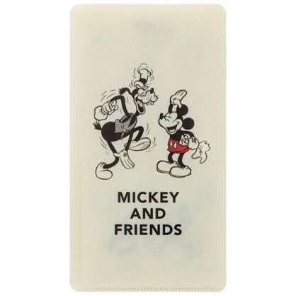 小禮堂 迪士尼 米奇 扣式口罩夾 面紙包 口罩包 口罩套 口罩收納 (米 高飛)